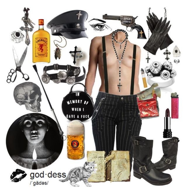 """The Devil envious"" by sucrosia ❤ liked on Polyvore featuring Forever 21, Opening Ceremony, Wet Seal, Frye, Meadowlark, D&G, Fornasetti, 3:10, Bena and Color My Life"