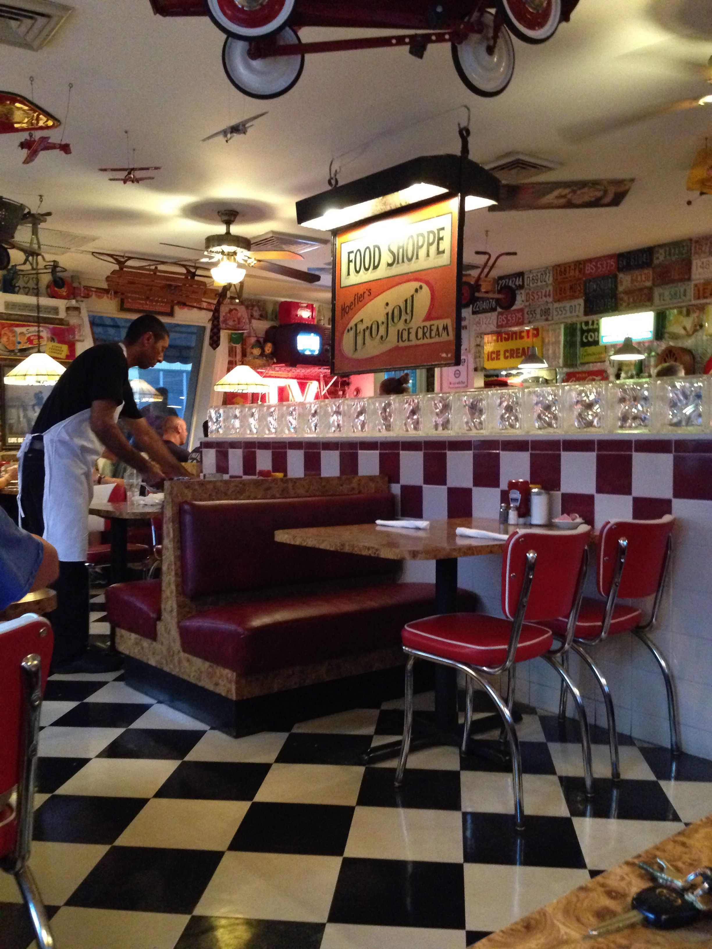 City Diner in West Palm Beach, Florida