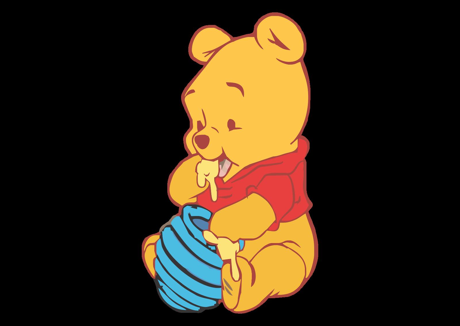 Baby Pooh Logo Vector Winnie the pooh, Pooh, Vector logo