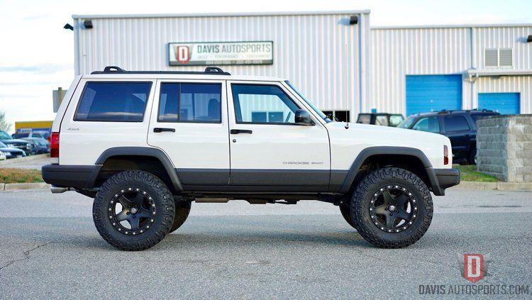 Xj 1 28 17 Stage 2 White Davis Autosports White Jeep Cherokee