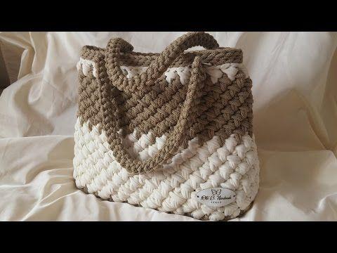Diy Tutorial Crochet Easy Casual Friday Handbag With Lining