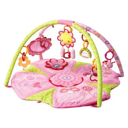 Bright Starts Pretty In Pink Supreme Play Gym Opens In A New Window Bright Starts Playmat Play Gym