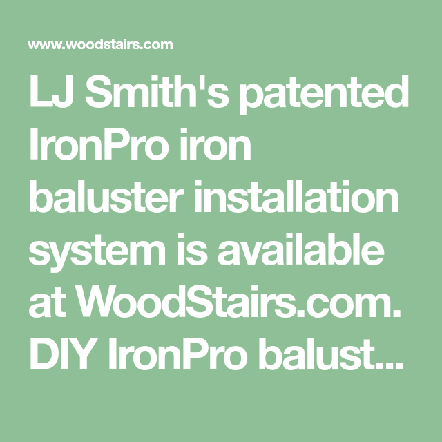 Best How To Install Iron Balusters Installing Metal Spindles 400 x 300
