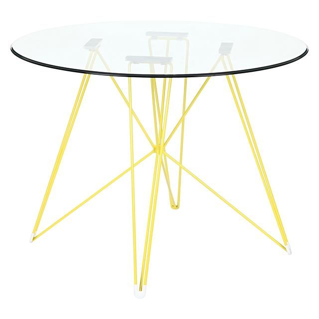Replica Charles Ray Eames Eiffel Dsr Round Gl Dining Table