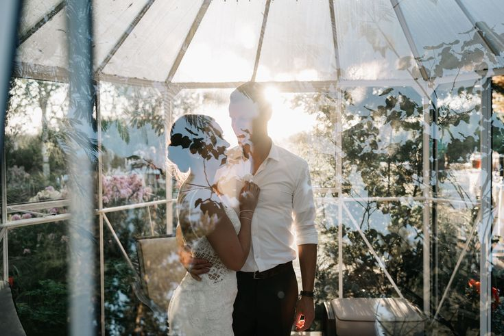 Backyard oregon wedding venue macy and travis did an