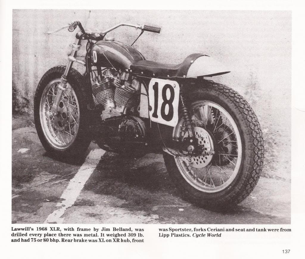 Mert Lawwill's 1968 Harley-Davidson XLR