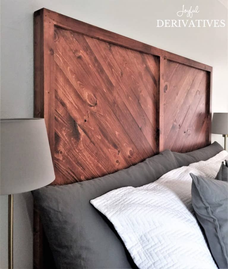 How to Build a West Elm Inspired DIY Wood Headboard - Joyful Derivatives -   19 diy Headboard king ideas