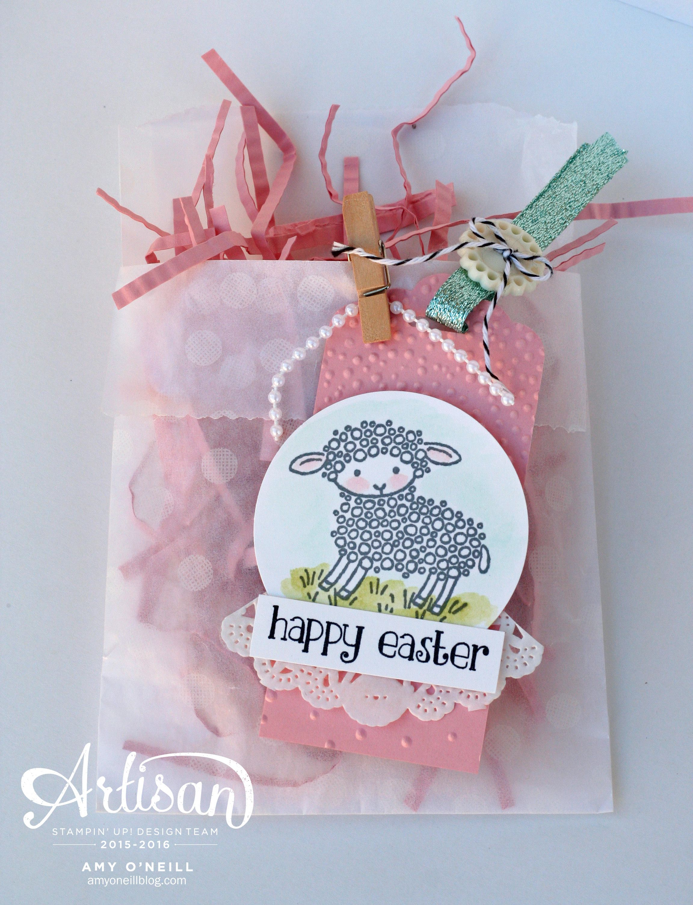 Easter sheep gift bag su projects gift tags pinterest bags easter sheep gift bag negle Image collections
