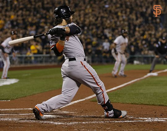 Crawford becomes 1st shortstop to hit a grand slam in the postseason. #OCTOBERTogether