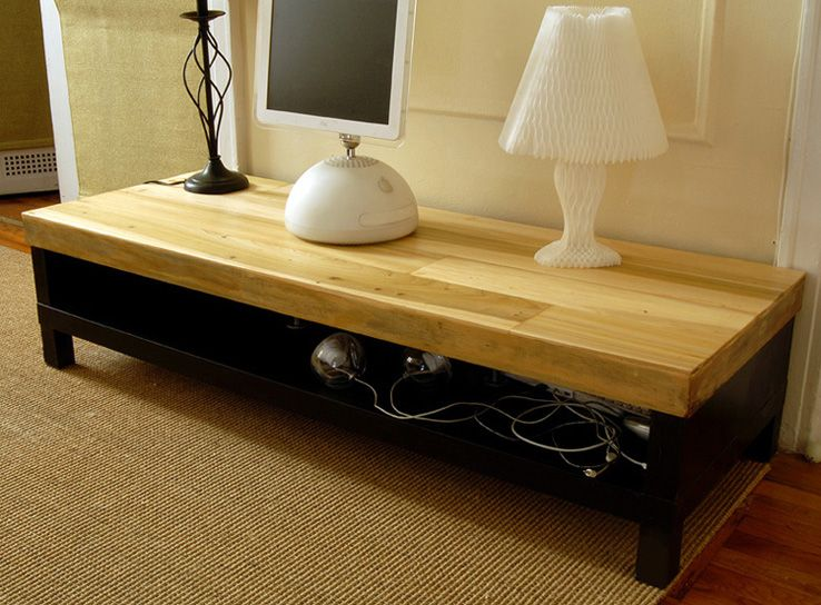 ikea hackers revived lack tv table diy to do list pinterest tv tables ikea hackers and. Black Bedroom Furniture Sets. Home Design Ideas