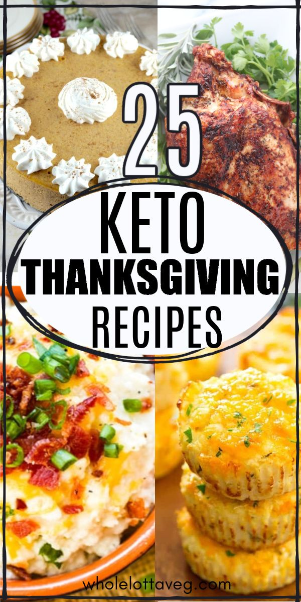 25 Keto Thanksgiving Recipes