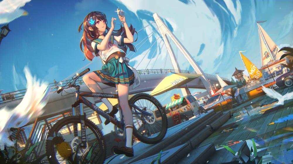 anime, anime girls, digital art, artwork, portrait