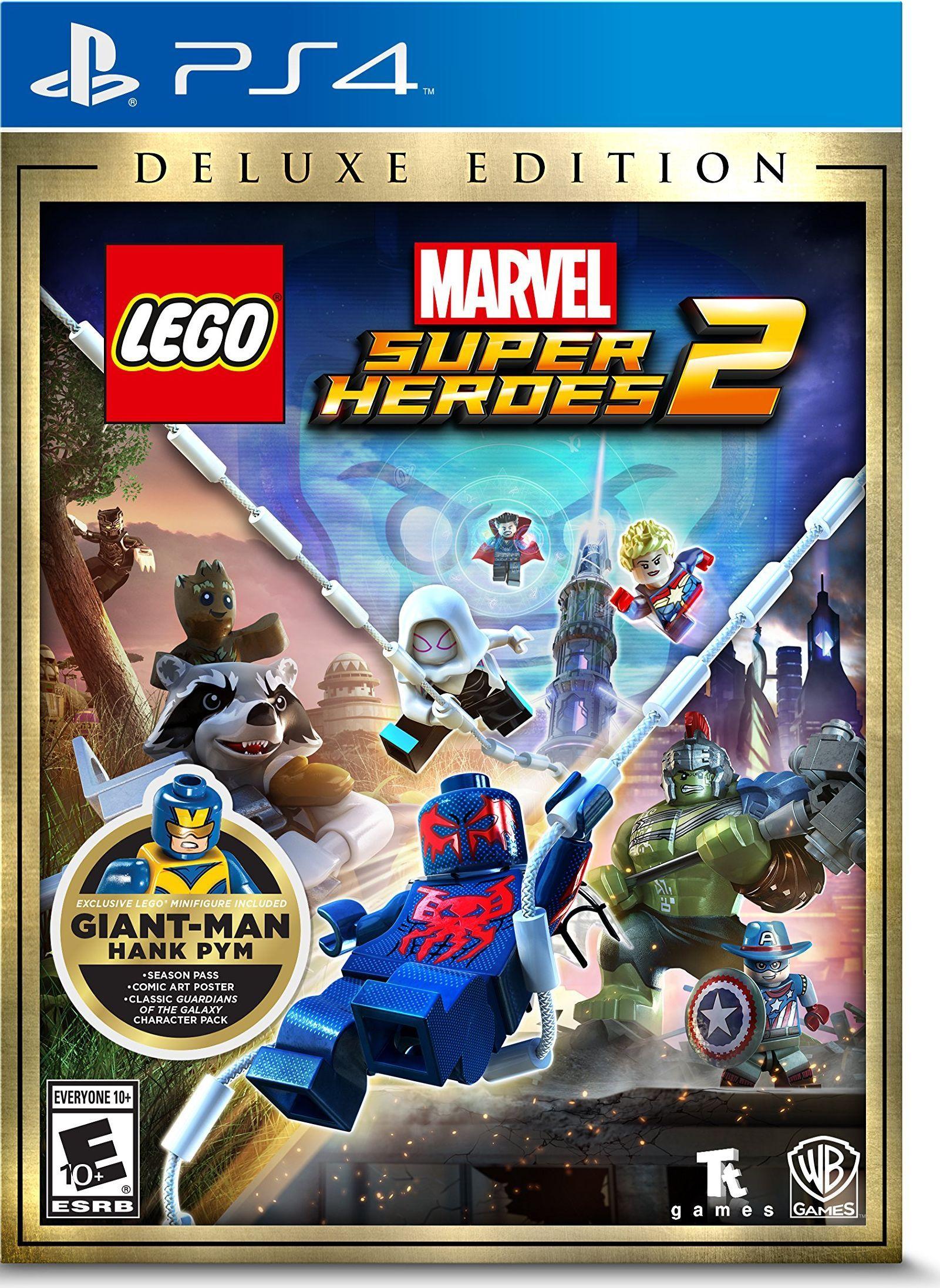 LEGO Marvel Superheroes 2 Deluxe | ps4 | Lego marvel superheroes 2