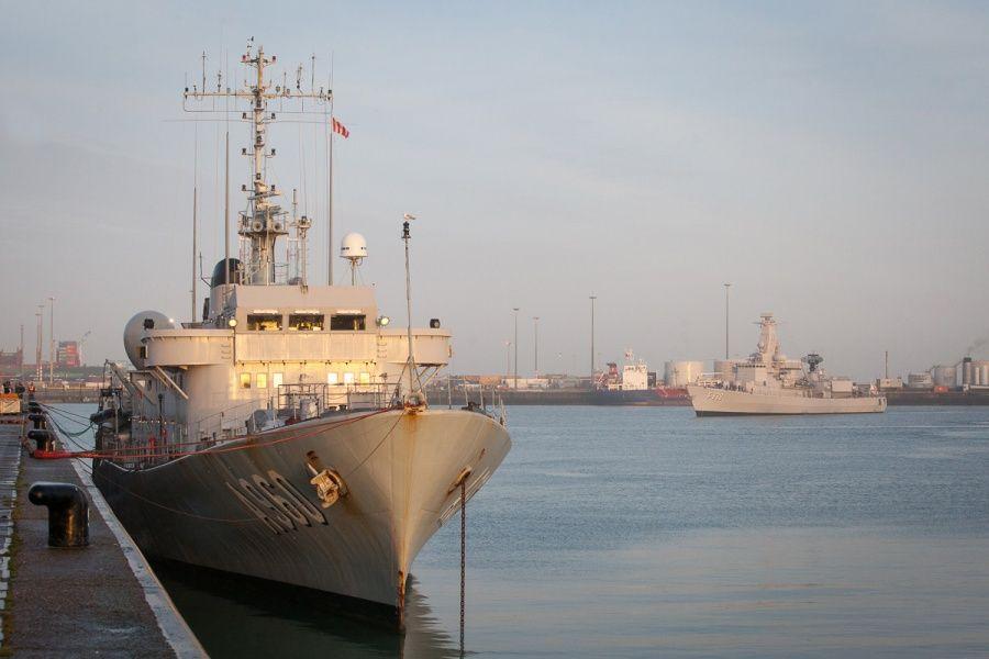 Belgian Frigate Bns Leopold Returns Home After Four Months Of Operations Marine Nederland Kust