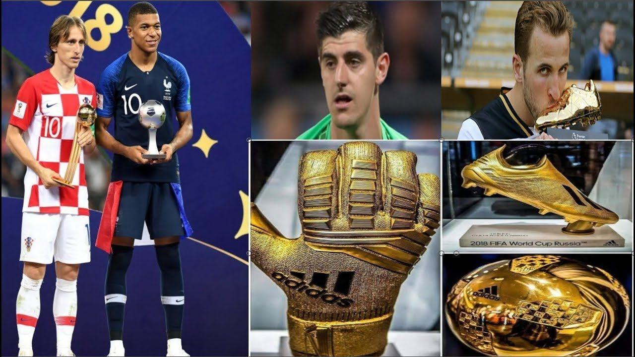 Award Winners World Cup 2018 Golden Ball Boot Glove Winners World Cup World Cup 2018 Football Info