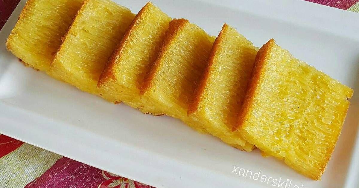Resep Bika Ambon Enaaak Kenyaal Oleh Xander S Kitchen Resep Resep Makanan Manis Makanan