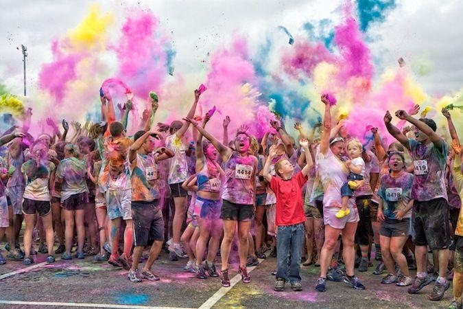 Color Me Rad 5K Run | Race dates for 2012