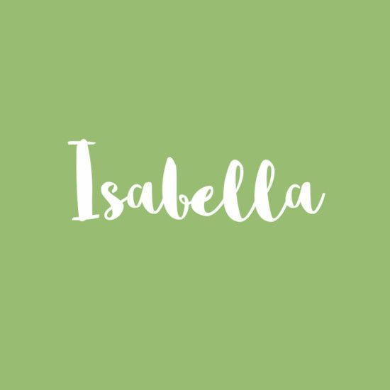 Isabella  Baby Names  Italian Baby Names, Baby Girl Names Spanish -2499