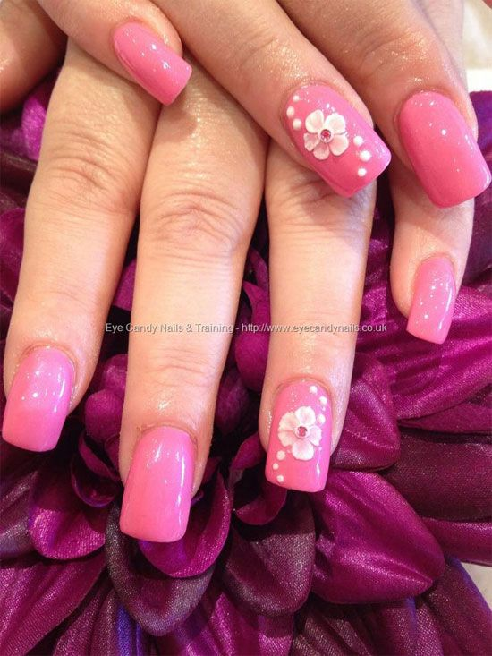 Pink acrylic nail art gallery nail art and nail design ideas pink acrylic nail art gallery nail art and nail design ideas 15 simple yet elegant pink prinsesfo Gallery