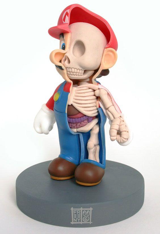 Jason Freeny - Mario http://web.mac.com/moistproduction/flash/index ...