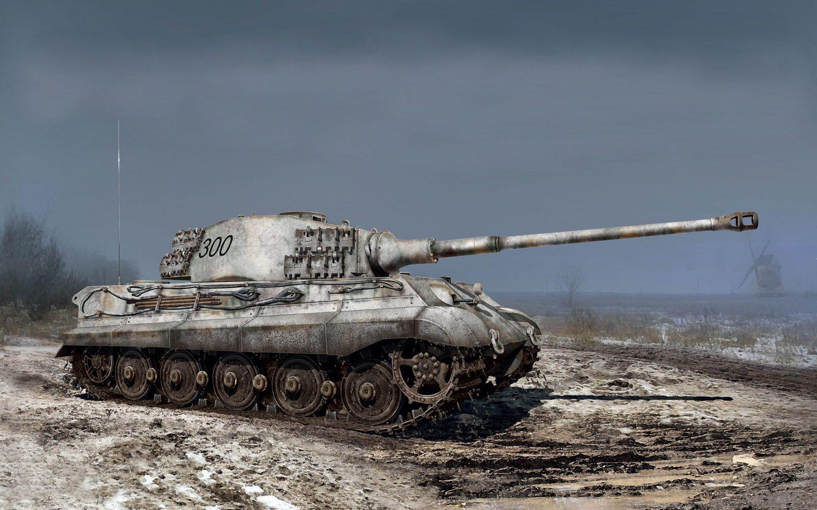 Pz.Kpfw.VI Ausf. B Königstiger, cortesía de ICM. http://www.elgrancapitan.org/foro/viewtopic.php?f=12&t=17519&p=887328#p887268