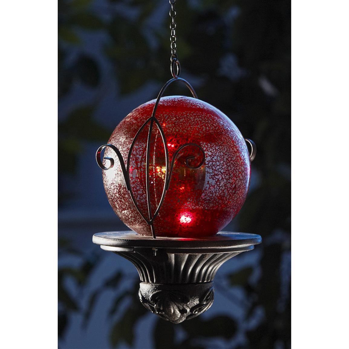 Hanging Solar Garden Globe. Beautify Your World!