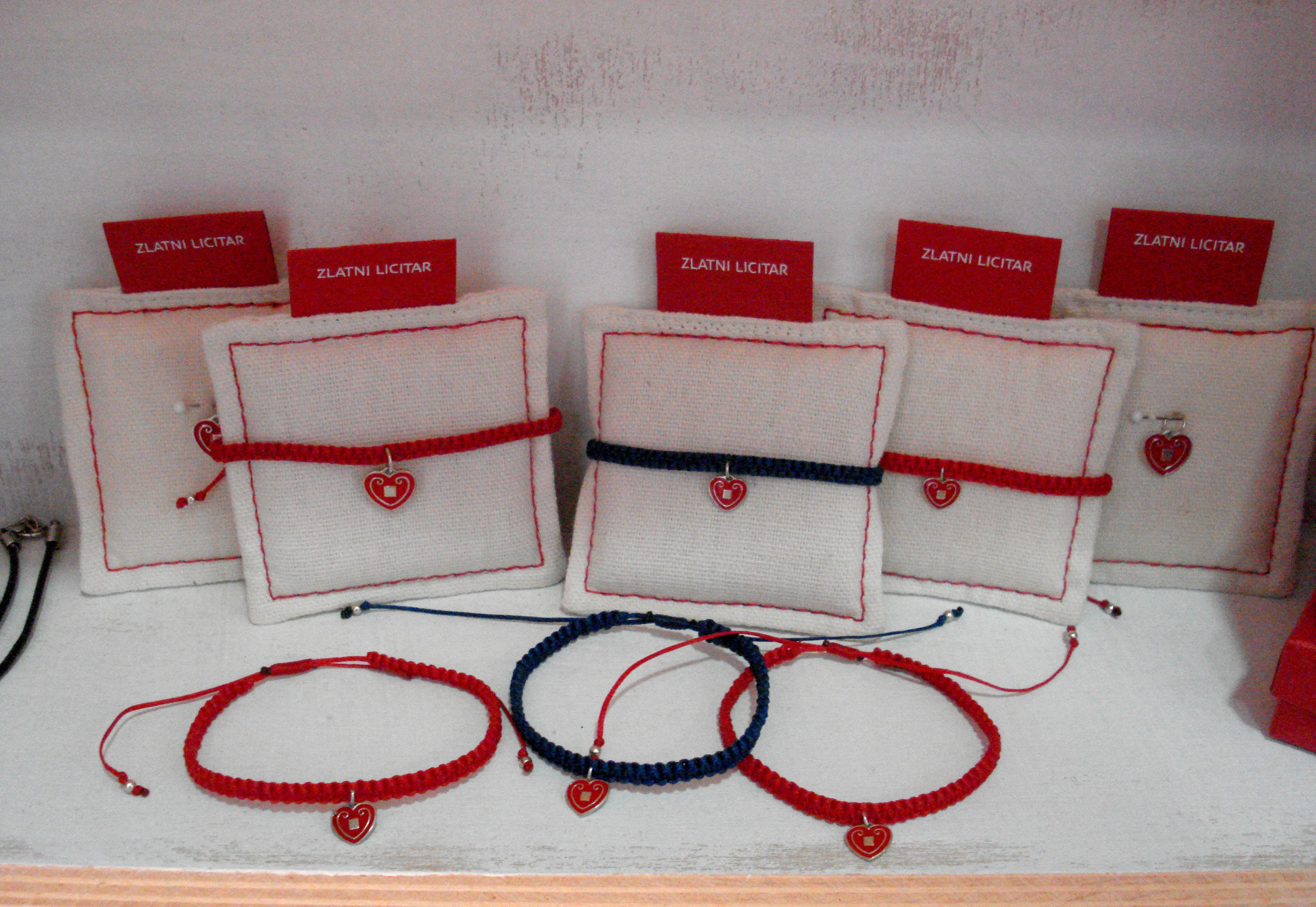 ZLATNI LICITAR #bracelets available in Take me Home #croatian design shop. www.insightdesignguide.com