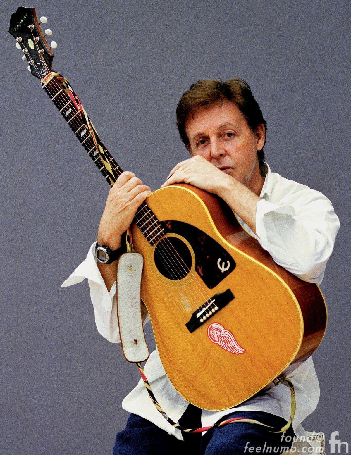 Paul Mccartney Detroit Red Wings Sticker Epiphone Texan Acoustic Epi Vs Gibson Selector Switch Mylespaulcom Guitar