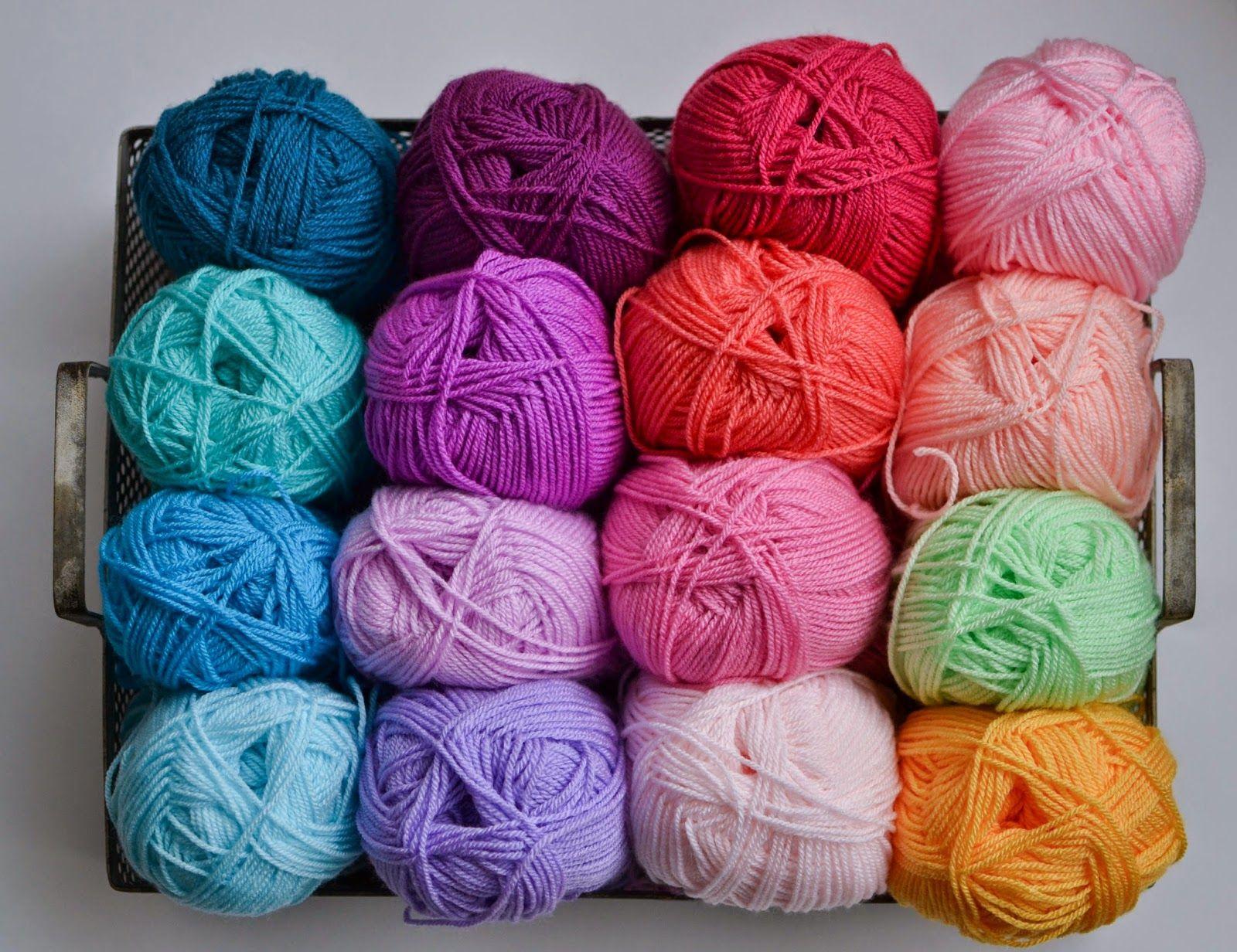 Bright Neat Ripple Crochet Blanket attic 24 Stylecraft Special DK yarn & Bright Neat Ripple Crochet Blanket attic 24 Stylecraft Special DK ...