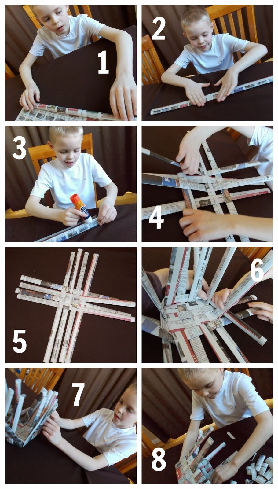 How To Weave A Basket Using Paper : Relentlessly fun deceptively educational how to weave a