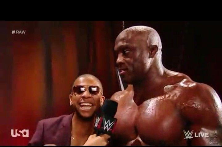 Bobby Lashley And Lio Rush Raw Bobby Lashley Pinterest Round