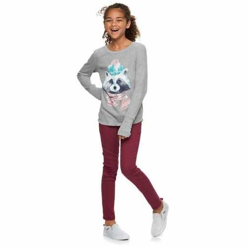 Mudd® thermal top for girls 7-16
