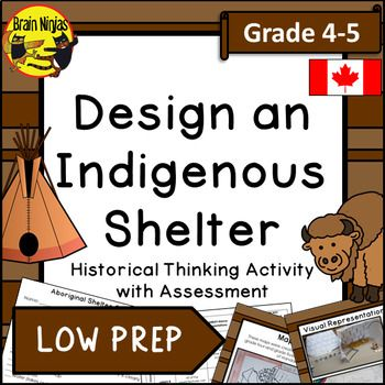 Design An Indigenous Shelter Historical Thinking Activity