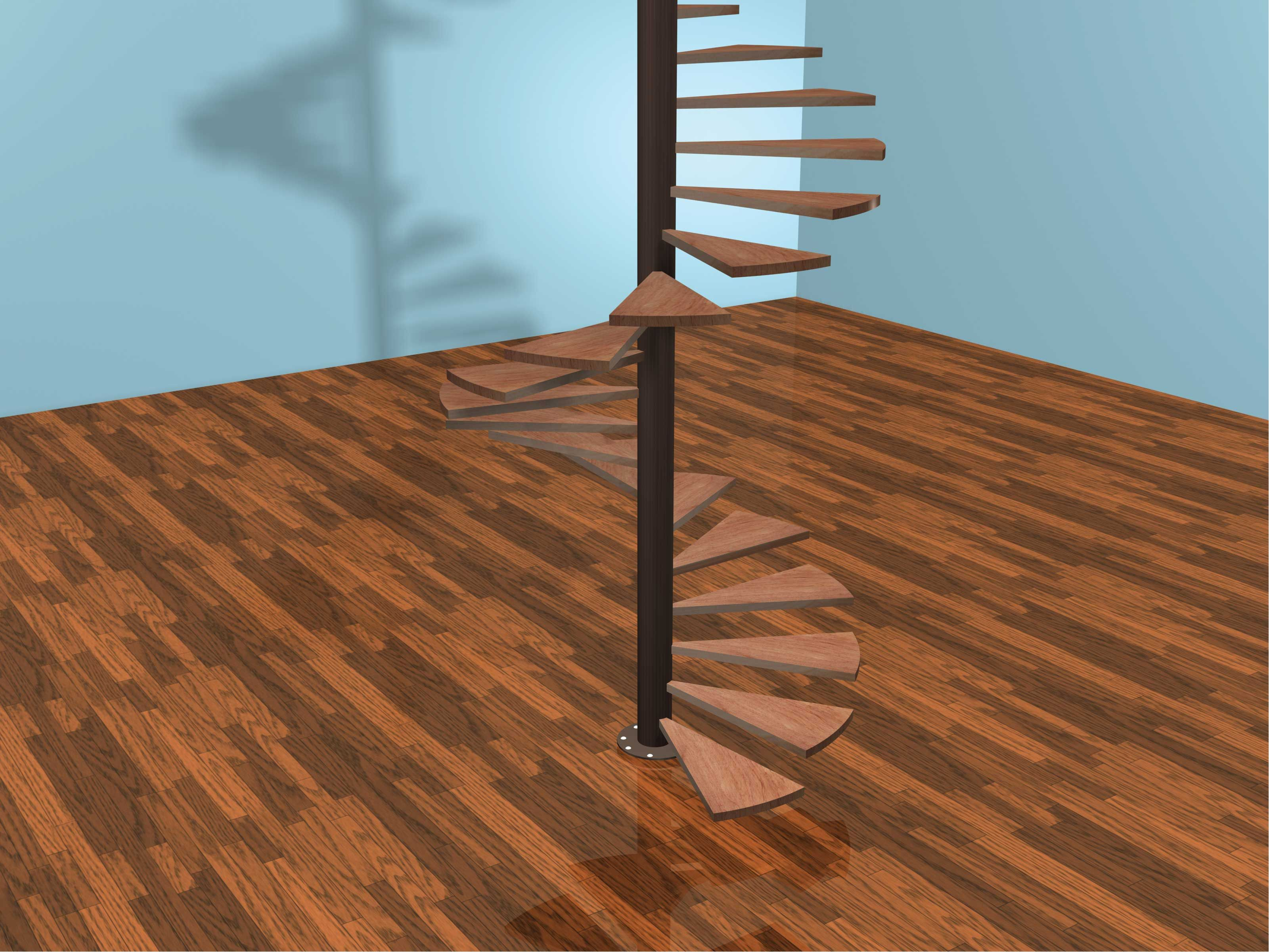 A Spiral Staircase Can Add An Element Of Unusualness Or