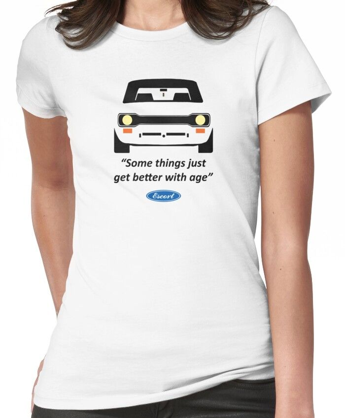 'Ford Escort Mk 1 / Vintage Classic Car' T-Shirt by Inspired Images