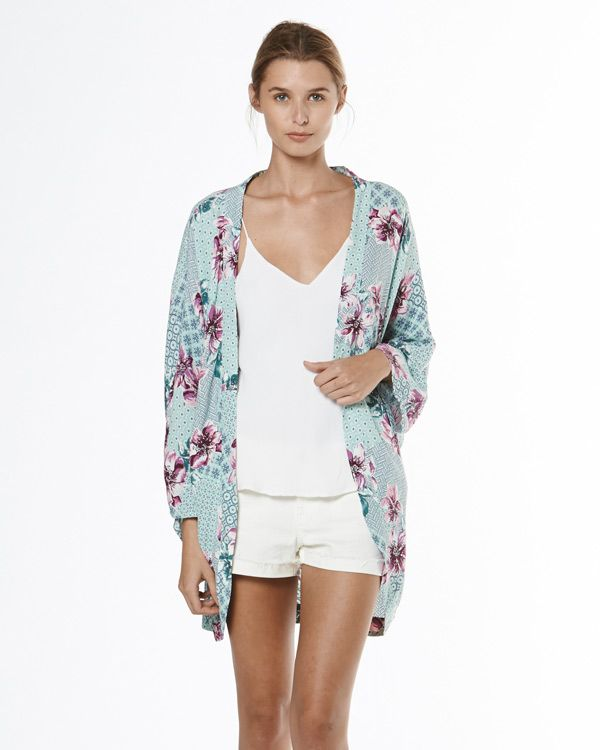 NEW (and divine!) from Tigerlily La Paloma Floral Kimono $169 ...