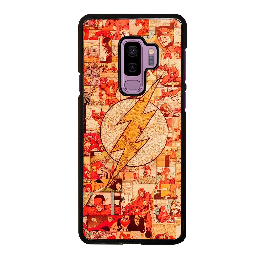 THE FLASH COLLAGE Samsung Galaxy S9 Plus Case Cover