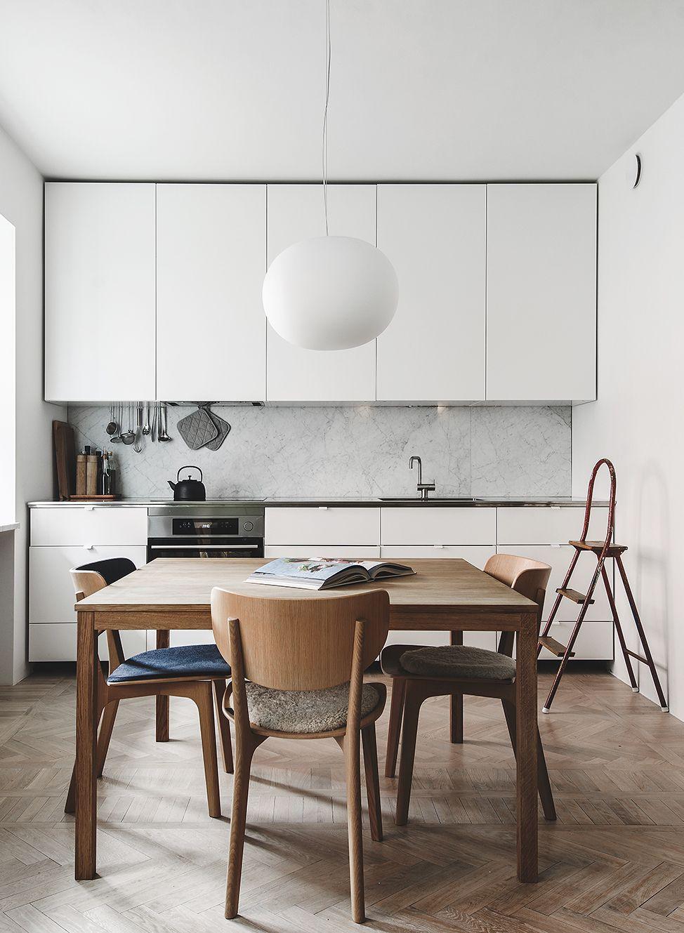 Kitchen In A Natural Look  Via Coco Lapine Design Blog Enchanting Kitchen Design Blog Inspiration