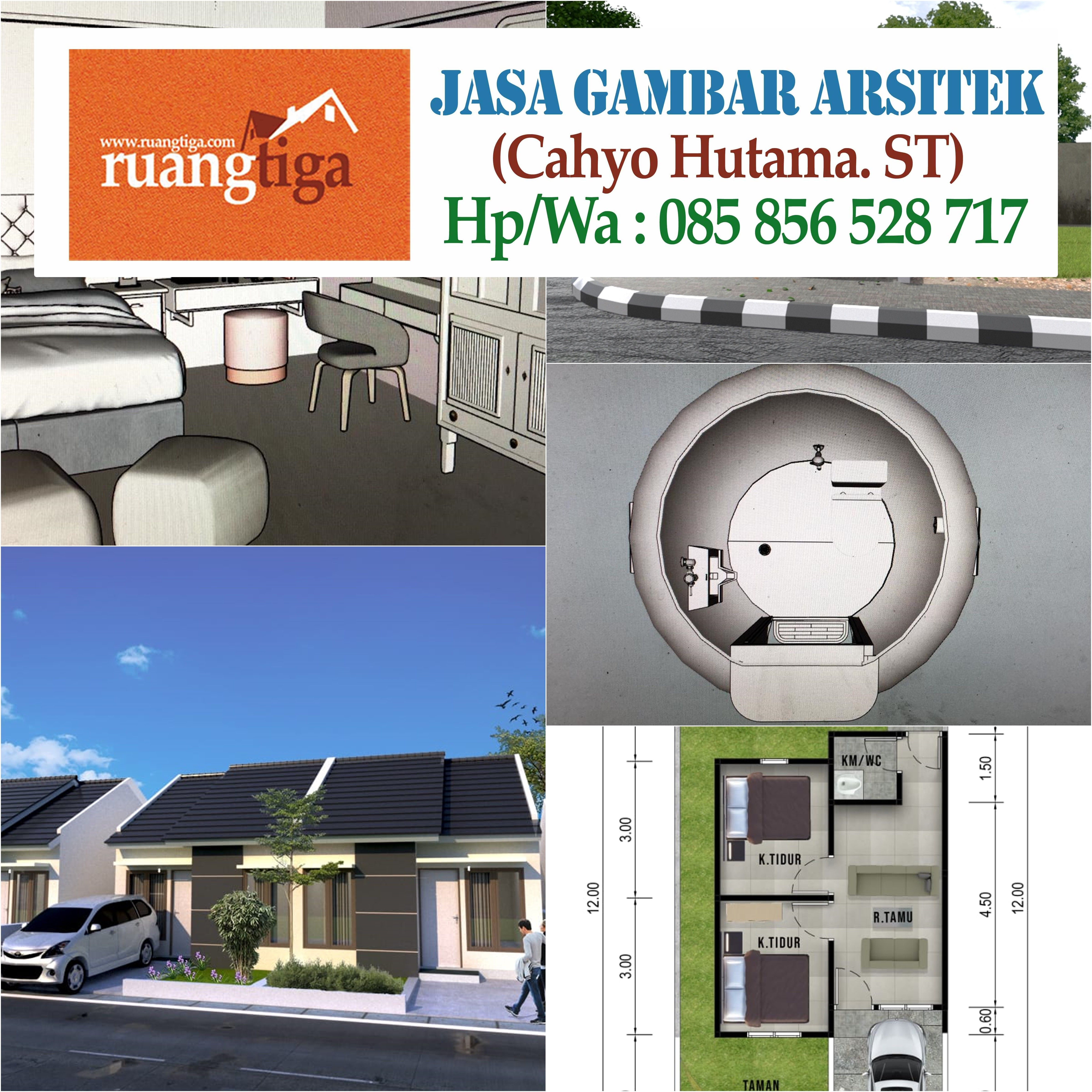 Pin Di 085856528717 Jasa Arsitek Rumah Kost Jakarta