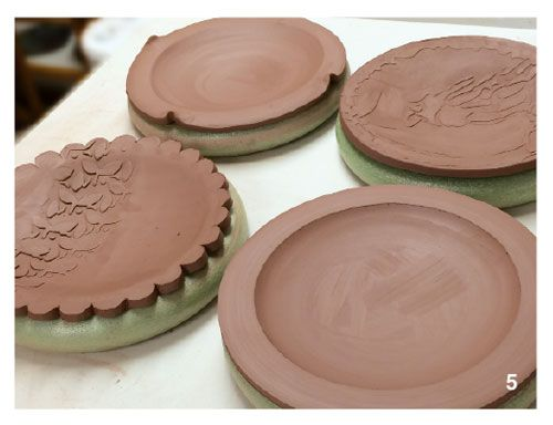 How To Make Great Slump Molded Plates With A Cheap Craft Store Tool Ceramic Arts Network Pottery Molds Ceramic Arts Daily Pottery Handbuilding