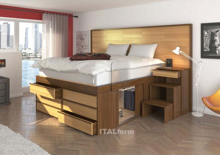 Space Saving Beds Designed To Increase Your Storage Space