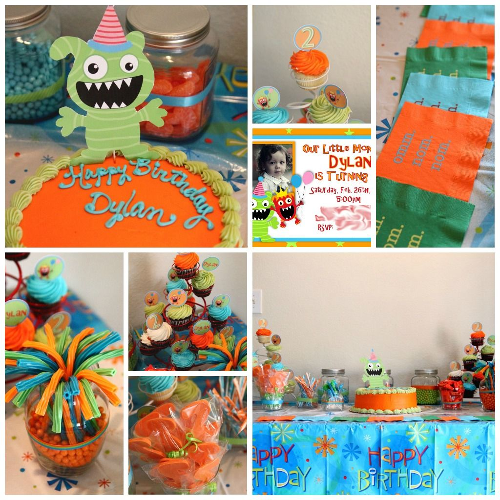 So tempted to throw a Monsters Inc. party for N.
