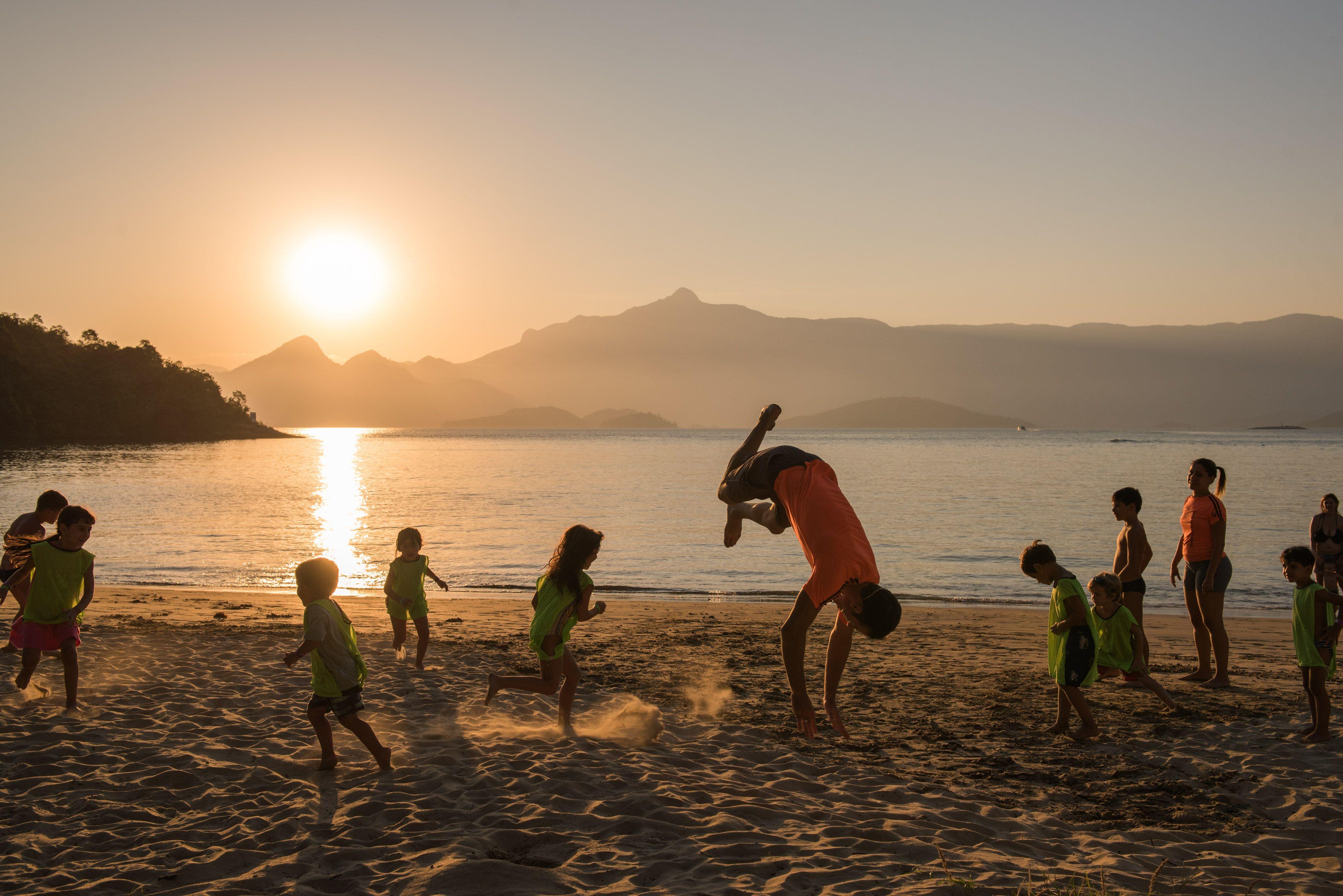 Criancas Vila Gale Eco Resort Angra Rio De Janeiro Brasil