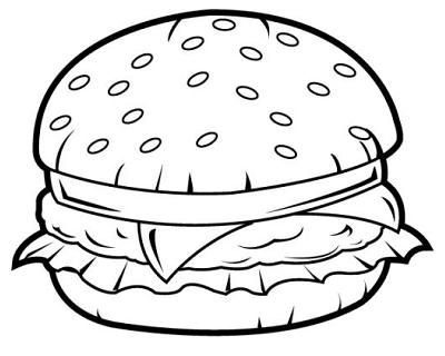 r sultats de recherche d 39 images pour dessin hamburger junk food pinterest hamburger. Black Bedroom Furniture Sets. Home Design Ideas