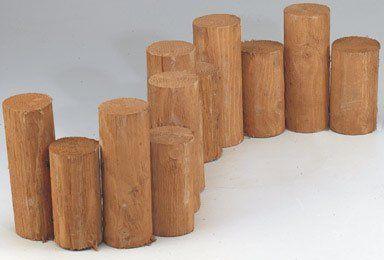 Greenes Fence Rc 47b 7x3cedar Round Log Edging By Greenes