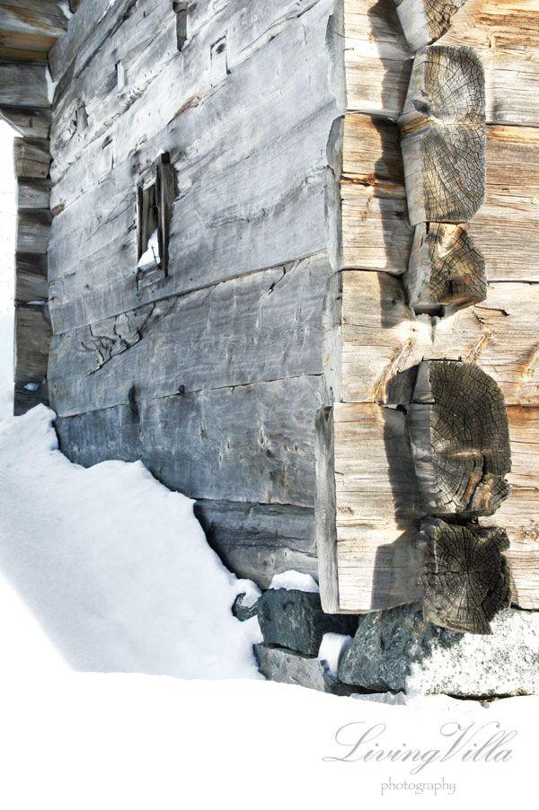 tømmerhytte norwegian old cabin
