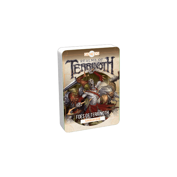 Fantasy Flight Games Genesys Roleplaying Game: Foes of Terrinoth