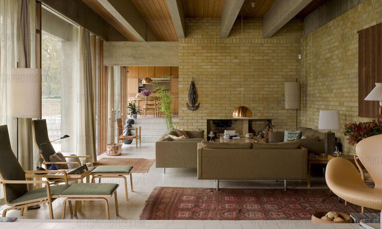 Povl ahm house in hertfordshire uk designed by jorn utzon scandinavian modern danish modern
