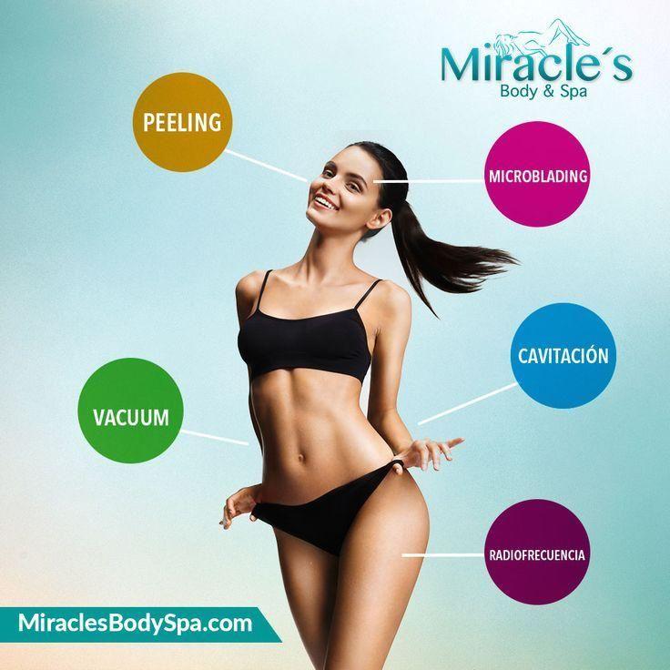 #MiraclesBodySpa visítanos y conoce nuestros paquetes #tratamientos #solo  Todos los tratamientos en un solo solo lugar