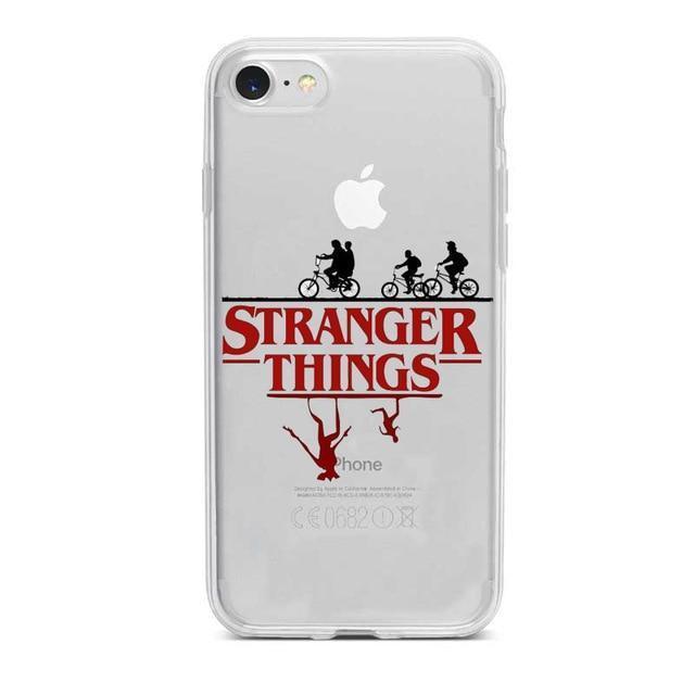 Stranger Things Clear Phone Cases | Stranger things phone case ...